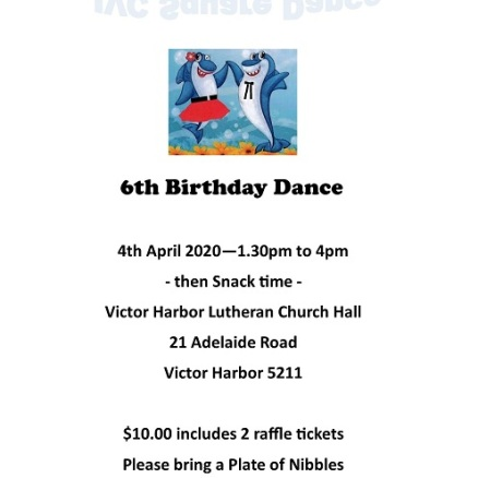 2020 JVC Square Dance Birthday Advert - small